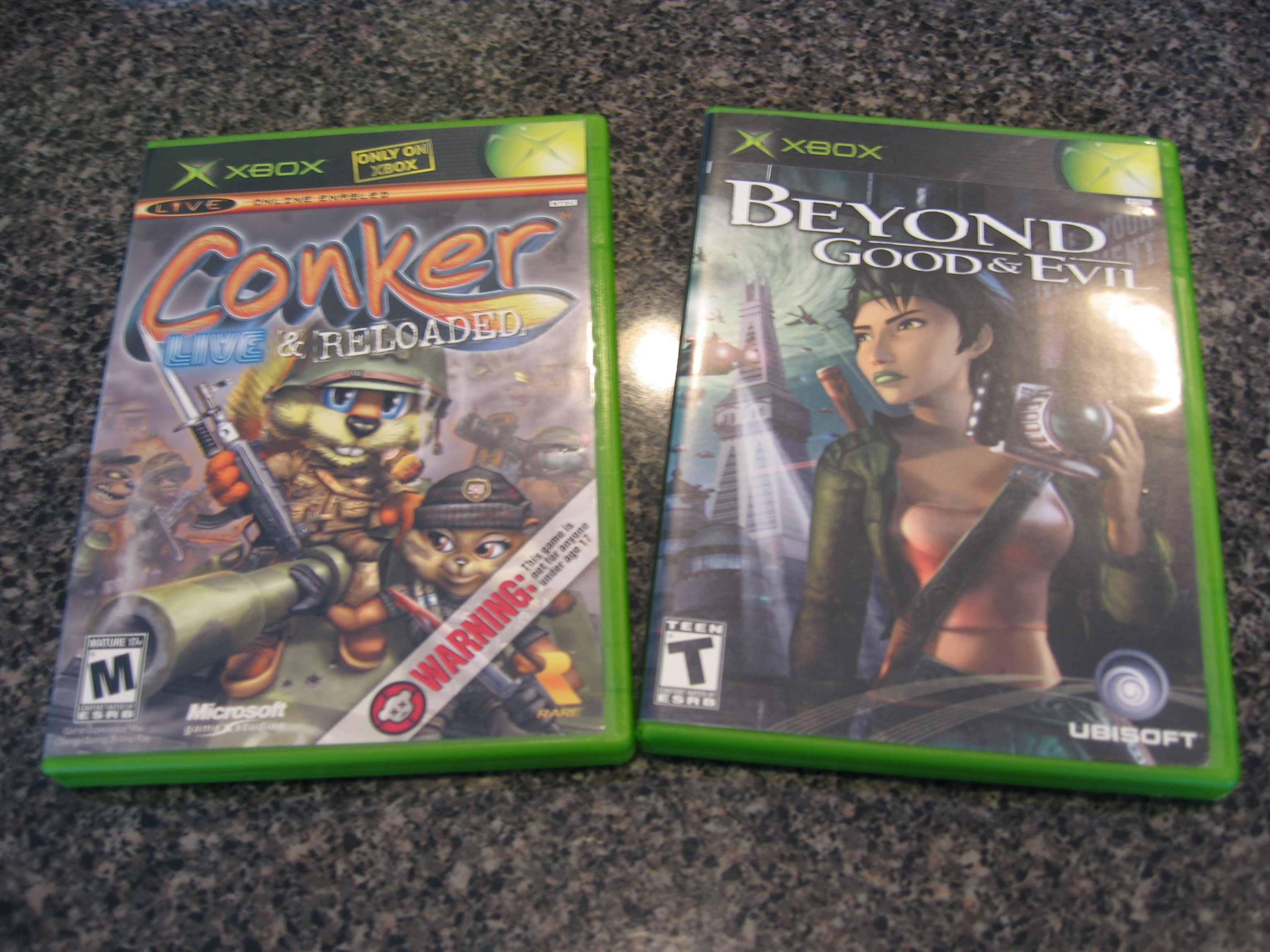Conker Live & Reloaded and Beyond Good & Evil